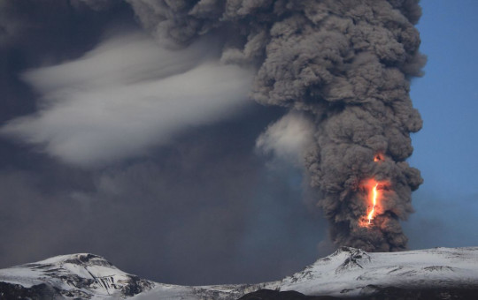 ज्वालामुखी विष्फोट