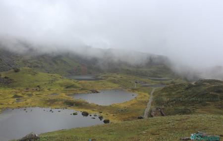 करिब ४३०० मिटर उचाइमा रहेको पाँचपोखरी। तस्बिरः नारायण कँडेल
