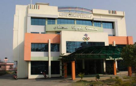 सातदोबाटोस्थित नेपाल ओलम्पिक कमिटीको मुख्यालय।